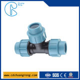Pp. 25mm Tee Compression Fitting für Irrigation