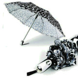 Water Ripple Windproof 3 Fold Automatic Umbrella (YS-3FA22083902R)