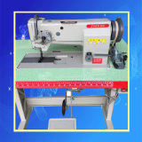 Naaimachine van de Stiksteek van het Mengvoeder van de Naald van HU van Zhen de Enige Op zwaar werk berekende (zh-4400)
