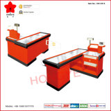 Hypermarché Non-Electric Cashier Counter avec Infrared Scanner et Gate (OW-C015)