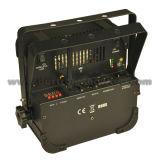 PARIDADE a pilhas sem fio 9X12W RGBWA+UV 6 in-1 do diodo emissor de luz de DMX