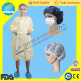 PP Patient Gown, Pyjamas, Short Sleeves를 가진 Isolation Gown