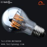 Bulbo del filamento de la plata LED de la tapa de la luz del espejo del LED