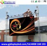Im Freienled-Bildschirm-Anschlagtafel P6 farbenreich