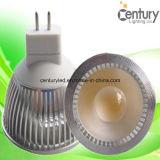 4W projecteur neuf de l'ÉPI GU10 MR16 E27 DEL avec la haute performance chaude