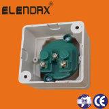 Europäisches Standard Surface Mounted Power Socket mit Grounding
