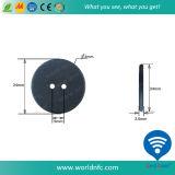 Tag Washable elevado da lavanderia do silicone RFID de Qulaity PPS