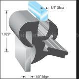 Testo fisso di gomma del bordo della finestra di EPDM