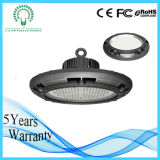 Éclairage LED élevé Highbay d'UFO d'Effiency 130lm/W de lumen