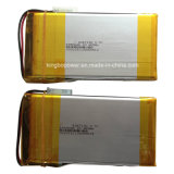 3.7V ricaricabile Polymer Lithium Ion Battery (6450mAh)