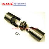 Acoplamentos de eixo de aço universais da corrente 1mm das junções