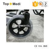 Cadeira de rodas de aço padrão de Europa da exportação padrão de Topmedi