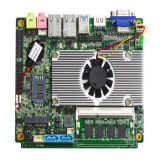 Connecteur 1155 à canal double encastré du support 24bit Lvds de carte mère de LGA (BM77)