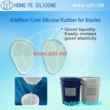 Caoutchouc médical de silicones de RTV pour des garnitures de semelle intérieure de silicones