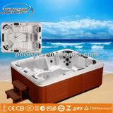 6つの人の温水浴槽の支えがないヨーロッパ式の屋外の性のマッサージの温水浴槽の浴槽