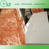 La feuille de HPL/Formica/en stratifié décoratifs en plastique/imperméabilisent le stratifié