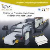Computergesteuerte Hochgeschwindigkeitspapierrollenscherblock-industrielle Papierschneidemaschine mit Cer