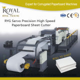Cortador de papel industrial computarizado do cortador de papel de alta velocidade do rolo com Ce