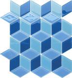Het Mozaïek van het Glas van de Reeks van de Vorm van Specail voor Badkamers