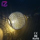 Luz da corda do Natal, luz da corda da decoração do diodo emissor de luz