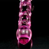 Vibrador de vidro do brinquedo do sexo para as mulheres Injo-Dg213
