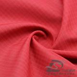 Agua y de la ropa de deportes tela tejida chaqueta al aire libre Viento-Resistente 100% del filamento del poliester del telar jacquar de la tela escocesa abajo (53163)