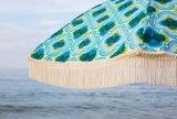 바닷가 Brella - 인어 100% UV 한세트 사치품은 경량 주문 전송 부대를 가진 비치 파라솔을 디자인했다