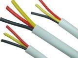 Pvc isoleerde en stak de Flexibele Kabel van het Scherm in de schede (RVVP 300/300V)