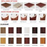 良質PVC木のドア