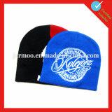 Chapeau acrylique de Beanie de jacquard tricoté par coutume