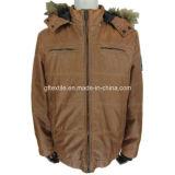 Куртка PU горячего сбывания 2016 кожаный, укомплектовывает личным составом кожаный куртку