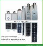 70W Luz solar de la calle con el nuevo diseño y el panel solar de alta Effiency