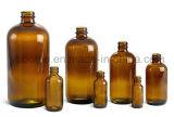 Garrafas químicas, garrafas de gotas de gotas de vidro âmbar em estoque