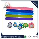 Diodo emissor de luz quadrado Watch de Slap Wristwatch Silicon para Kids (DC-1063)