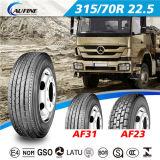 Radial pesado camión de carga de los neumáticos, los neumáticos TBR, Tubeless Tyre autobús (12.00rR20)