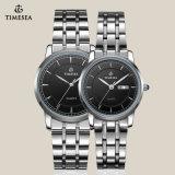 Het nieuwste Horloge van het Ontwerp voor Paar met Band 70008 van het Roestvrij staal