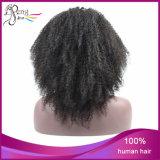 Парики шнурка краткости волос девственницы полные для чернокожих женщин