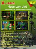 Рождества звезды ночи надувательства фабрики лазерный луч напольного красный зеленый