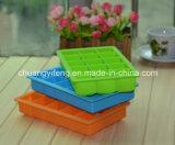 Подносы кубика льда силикона квадрата продукта домочадца высокого качества форменный