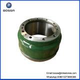Frein de parafoudre de tambour de frein de la fonte grise Ht250 pour le camion lourd