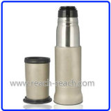 De Fles van het water, Thermosflessen, de VacuümFles van het Roestvrij staal (r-8017)