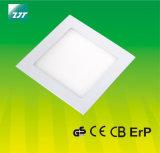 свет панели 12W квадратный СИД с сертификатом Ce GS
