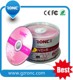 Media en blanco al por mayor de 16X DVD-R 4.7GB