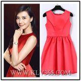 Commercio all'ingrosso elegante di lusso rosso del vestito da sera del partito delle donne del progettista