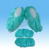 Cubierta quirúrgica/chanclos plásticos impermeables/higiénicos del zapato con la venda de elástico
