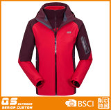 Winter Warm 3 der Männer in 1 Waterproof Jacket