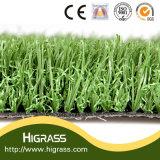 Pelouse artificielle verte d'herbe du matériau 40mm de PPE