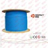 Câble conforme de la CE LSZH de Cat5e SFTP