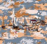 Обои настенных росписей стены пейзажа взгляда моря для комнаты малышей
