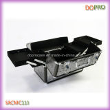 Eitelkeits-Weinlese-Muster-Aluminiumverfassungs-Installationssatz-Kasten mit Verschluss (SACMC113)